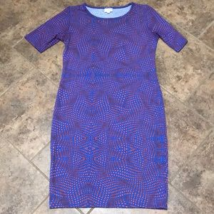 LuLaRoe Julia Dress-size medium